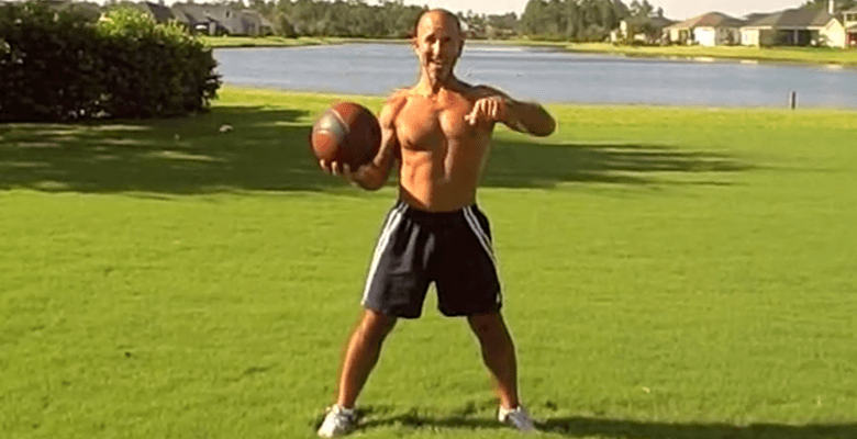 Bodyweight Cardio with Light Medicine Ball
