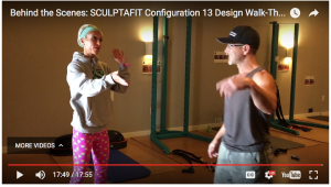Behind the Scenes at SCULPTAFIT Configuration 13 Pre Walk Through