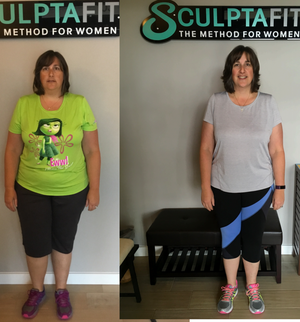 Nicole's Inspiring 7-Month FIT-Q Progress  at SCULPTAFIT
