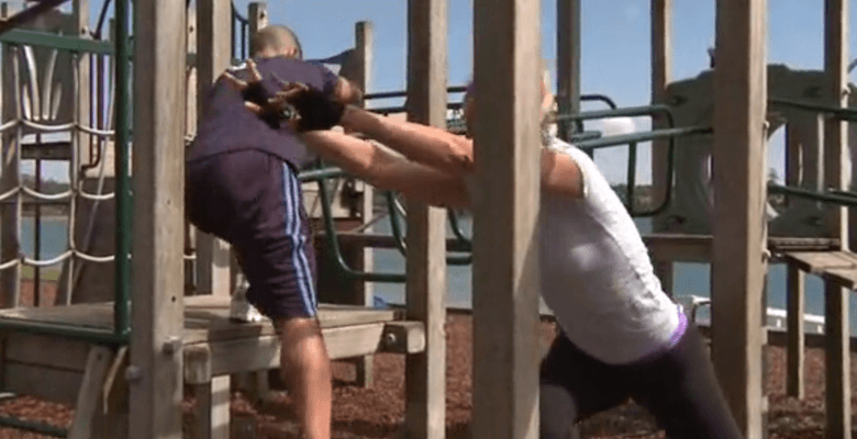 Playground Hard-Body Lower-Body Workout A