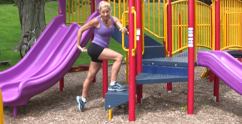 Playground Travel Lower Body Mini Workout