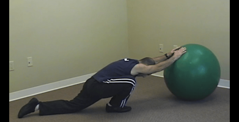 Short Stretch Routine with Exercise Ball