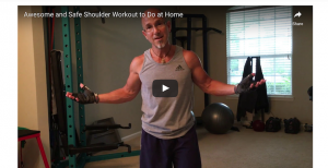 Awesome and Safe Shoulder Workout to Do at Home