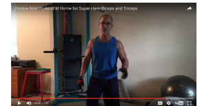 Unique Arm Workout at Home for Super-Hero Biceps and Triceps