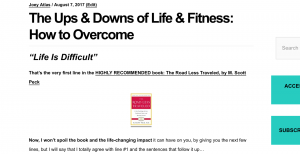 The Ups & Downs of Life & Fitness: How to Overcome Setbacks and Challenges