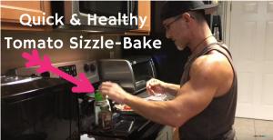 Quick & Healthy Tomato Sizzle-Bake Anti-Aging Recipe
