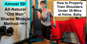 How to Get Sculpted and Strong Shoulders at Home