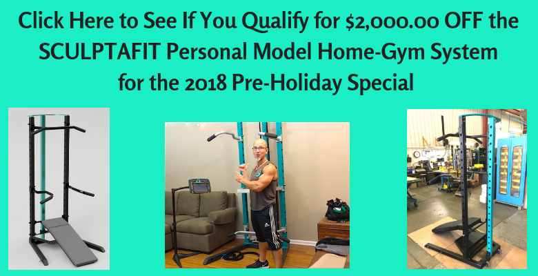 Qualify for 2000 off SCULPTAFIT Home-Gym System Personal Model