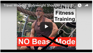 Rough Draft Personal Training Demo Video and a New Playground Travel Training Example Video