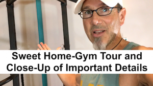 Home Gym Tour of All-In-One Bodyweight Home Gym System: SCULPTAFIT 5.0 Home-Gym Tour