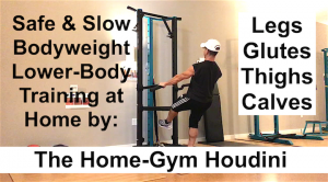 Bodyweight Workout for Lower Body Short Session on New Home Gym