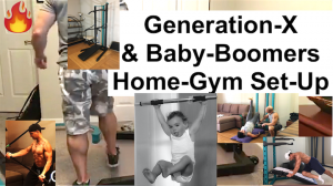 Home-Gym Set-Up for Generation X and Baby Boomers: Bodyweight Home-Gym