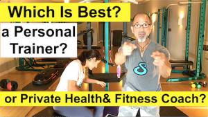 Which Is Best? A Personal Trainer or Private Health & Fitness Coach?